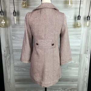 Tulle Jackets & Coats - Anthropologie Tulle Wool Coat Size XS